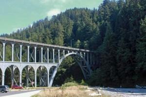 Heceta Cape Creek Bridge