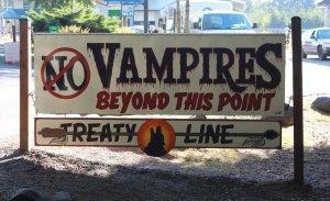 Vampire stop