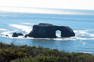 Arched Rock at Goat Rock