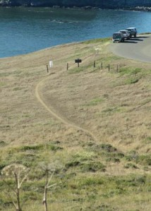 Kortum Trail above Blind Beach