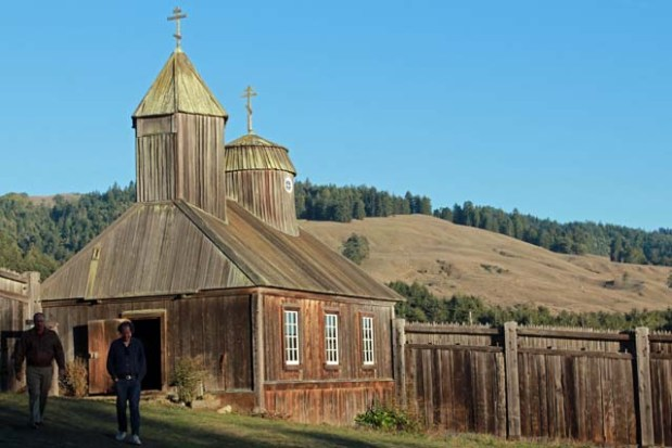 Church at Fort Ross