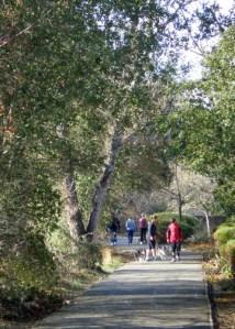 Santa Rosa Creek Trail near Mission
