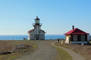 Pt Cabrillo Lighthouse and shop