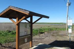 Bay Trail Napa River Entrance