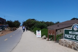 Bike walk to Pacific Grove