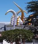 Aquarium tentacles