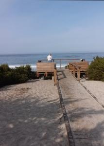 Carmel Beach platform