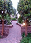 Carmel courtyard 2
