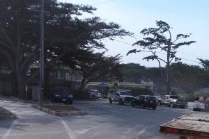Carmel empty parking lot
