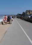 Lovers Point path to Monterey