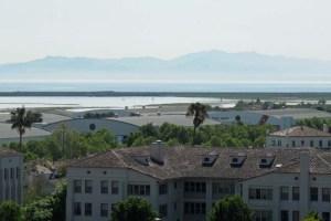 View over ex-Hamilton airbase