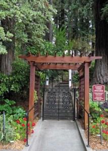 Korbel Garden Entrance