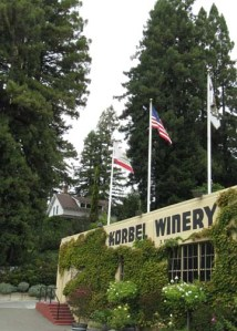 Korbel House and Winery