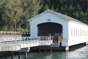 Lowell Bridge 1945