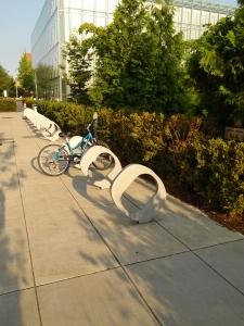 O bike rack