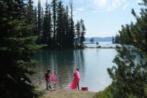 Play at Waldo Lake