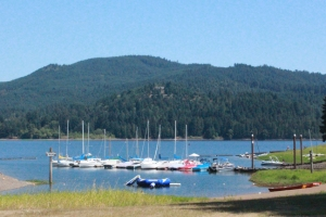 Baker Bay marina Dorena Lake