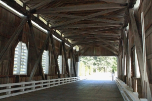 Dorena Covered Bridge Oregon