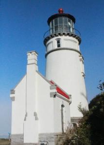 Heceta lighthouse closeup