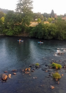 Willamette kayakers