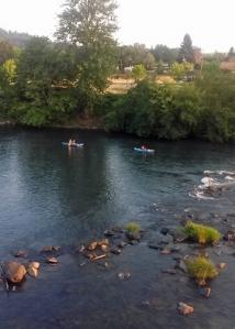 Willamette kayakers