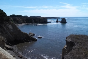 Coves and stacks