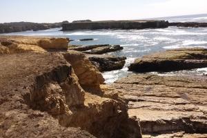 flat rock and island Stornetta