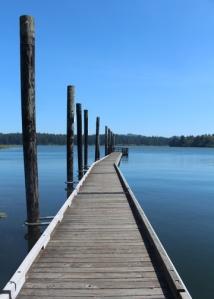 Siltcoos dock