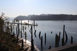 Suislaw River at Florence Oregon
