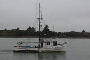 Eureka fishing boat