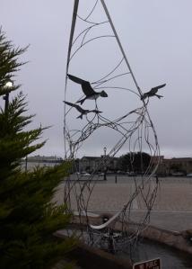 Eureka moving sculpture