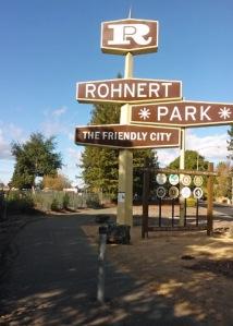 Rohnert Park sign