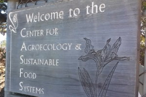 UCSC Farm entrance