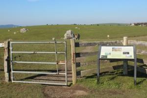 Giacomini Wetland entrance