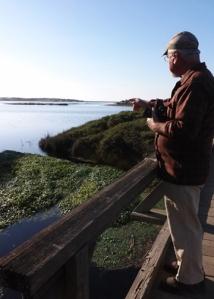 Mike at Abbotts Lagoon