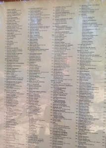Keck plant list