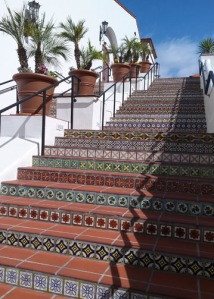 paseo stairs