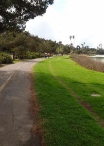 path near Clark