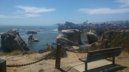 Pismo Beach - cliff