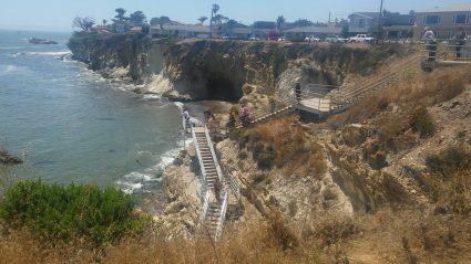 Pismo Beach stairs