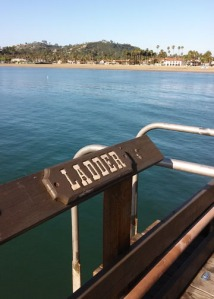 Stearns Wharf ladder