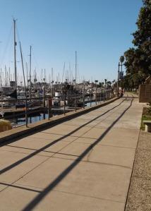 Yacht path