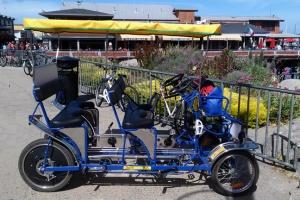 Wharf pedaling