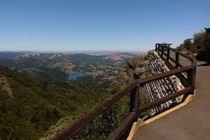 North side trail Mt Tam