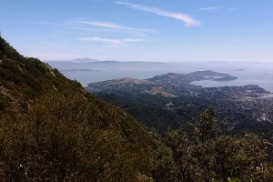 View Marin to Mt Diablo