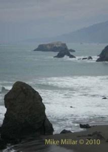 Ocean at Shell Beach