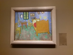 AI The Bedroom - Van Gogh