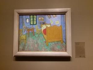 AI The Bedroom - Van Gogh