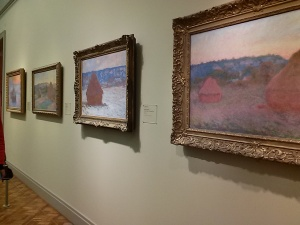 AI Wheatstacks Monet