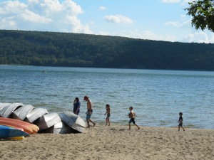 Devil's Lake beach